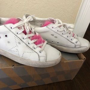 GOLDEN GOOSE- Special edition- size 39- pink mink